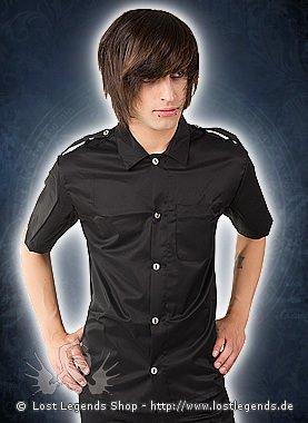 Aderlass Army Shirt Denim Black