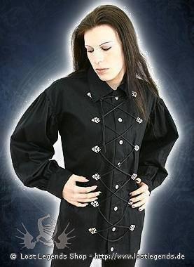 Aderlass Cremate Shirt Fine-Denim Black
