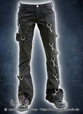 Aderlass Cross Pants Denim