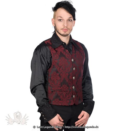 Aderlass Dark Vest Brocade