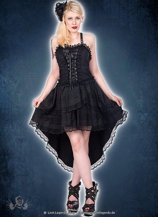 Aderlass Lolita Wing Dress Denim Black