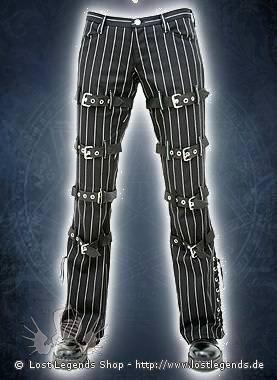 Aderlass Manacle Hipster Denim Pin Stripe