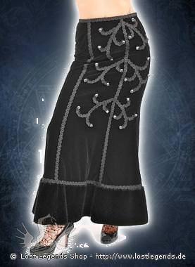 Aderlass Precious Skirt Velvet, Black