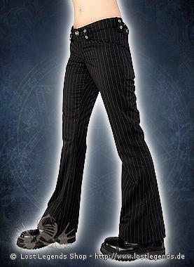 Aderlass Scary Hipster Pin Stripe Black-White