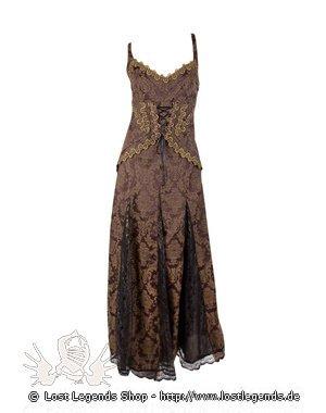 Aderlass Steampunk Dress Brocade, Brown