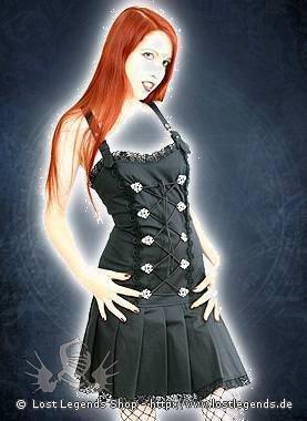 Aderlass String Mini Dress Denim Black