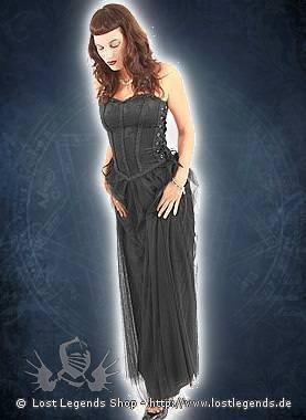 Aderlass Wedding Dress Brokat Black