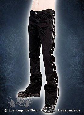 Aderlass Zip Pants Denim Black