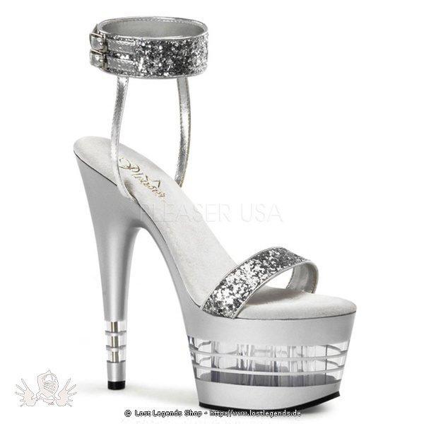 Adore-778 Silver 16,25 cm High-Heel