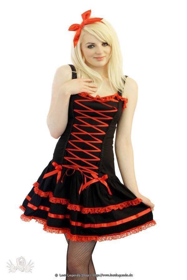 Alecxandra Frill Gothic Kleid