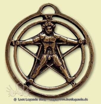 Alte Symbole Agrippas Pentagramm