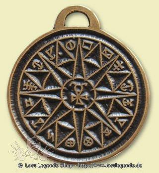 Alte Symbole Schutzkreis des Merkur