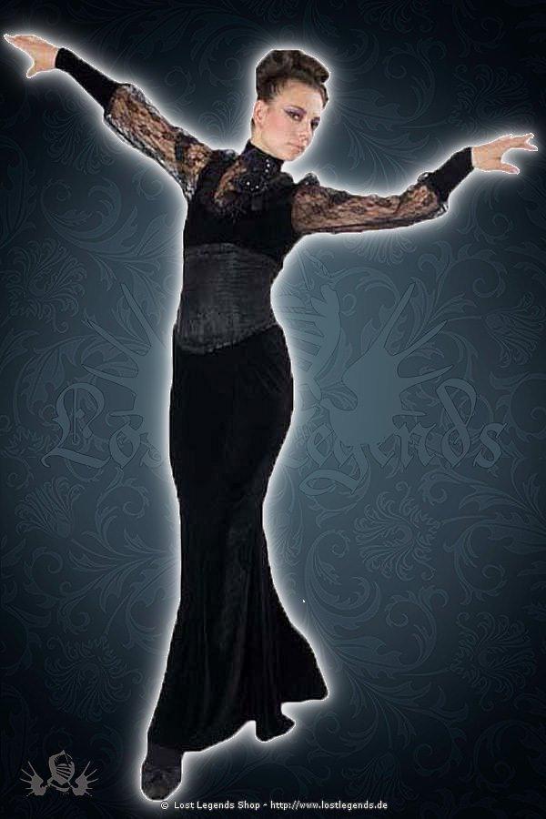 Amara velvet corset dress
