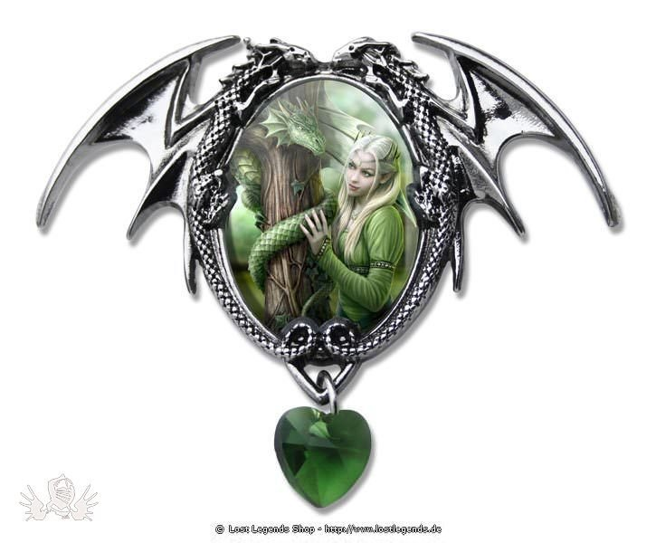 Anne Stokes Cabochons Kindred Spirits Cabochon