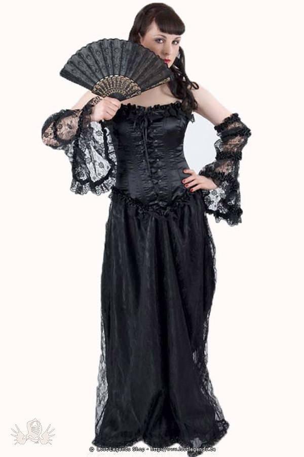 Arabella Satin Gothic Kleid