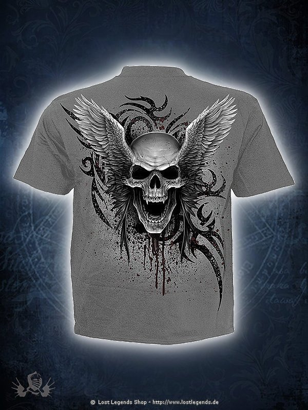 Ascension T-Shirt dunkelgrau SPIRAL