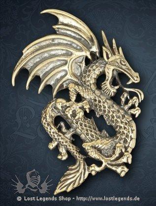 Asiatischer Drage Anhänger, Bronze