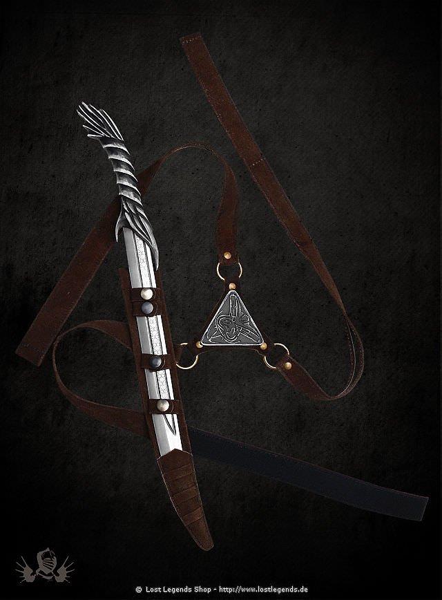 Assassins Creed Messer mit Tragegurt