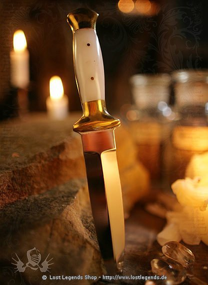 Athame Witchcraft White