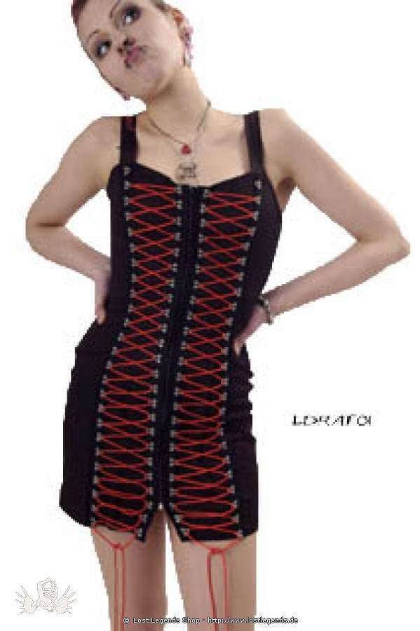 Attitude Front Gothic Kleid