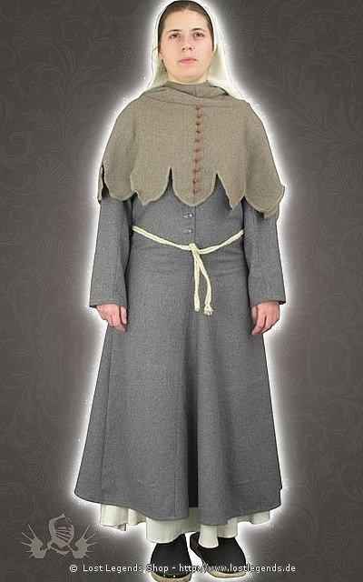 Bäuerinnengewand Mittelalter Kleid