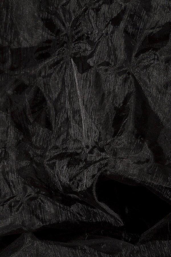 Ballon-Rock aus Organza schwarz
