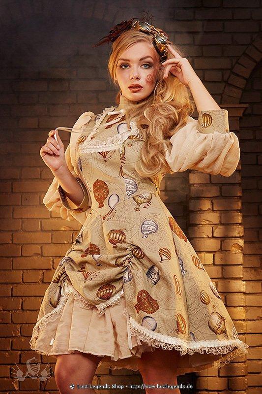 Balloon Doll Dress Steampunk Kleid