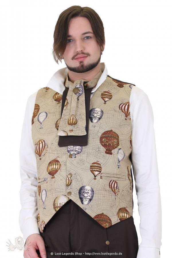 Balloon Print Steampunk Krawatte