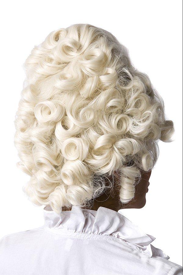 Barock Perücke weiß