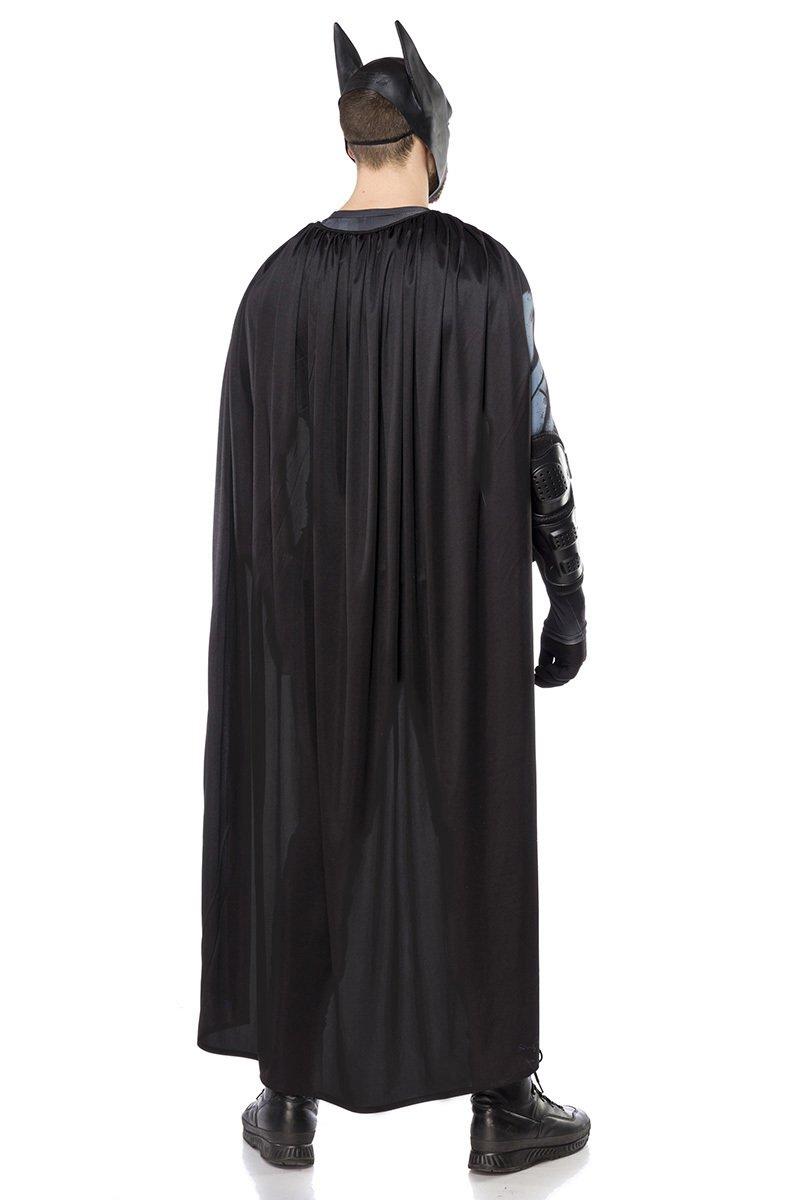 Batman-Kostüm schwarz
