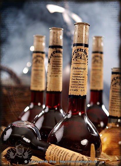 Beerenweine Beerenwein 0,5l Elixierflasche