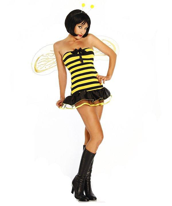 Bienenkostüm mit Flügeln