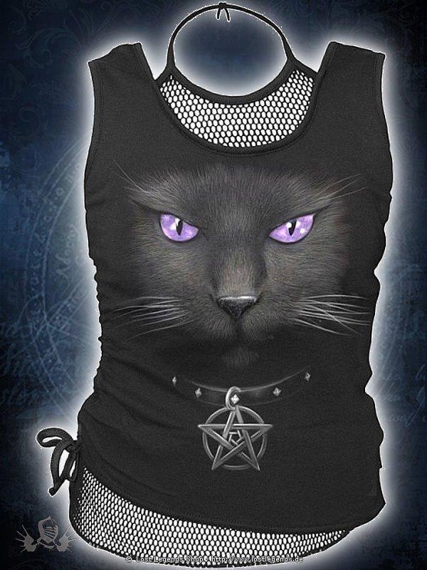 Black Cat 2in1 Netz Top SPIRAL