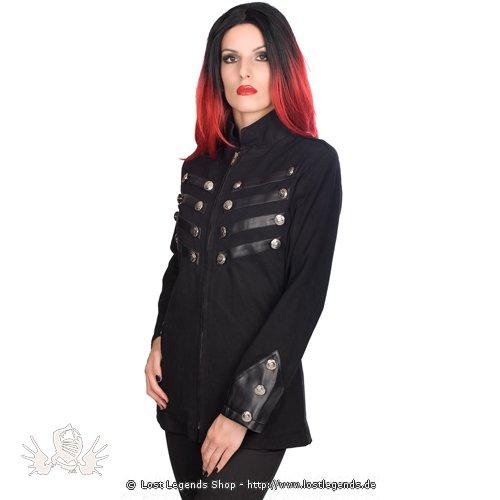 Black Pistol Ladys Army Jacket Denim