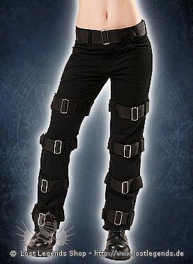 Black Pistol Manacle Jeans Denim Black