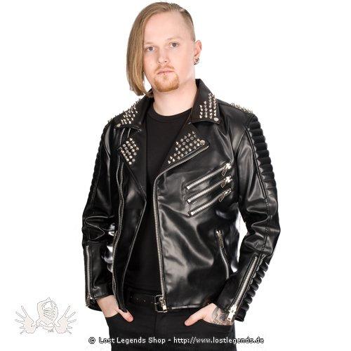 Black Pistol Rockers Jacket Sky