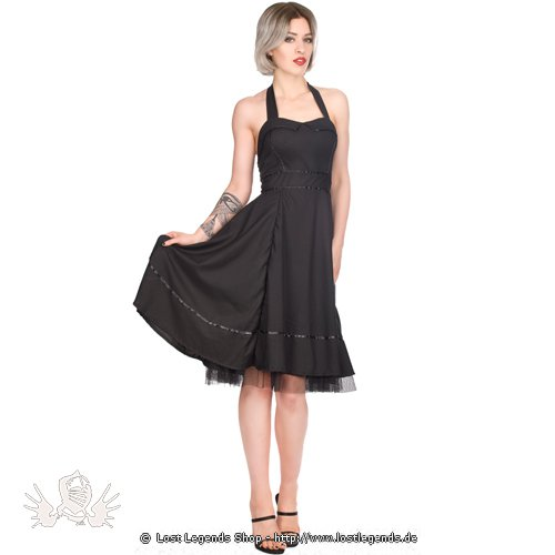 Black Pistol Sixities Mini Dress Denim