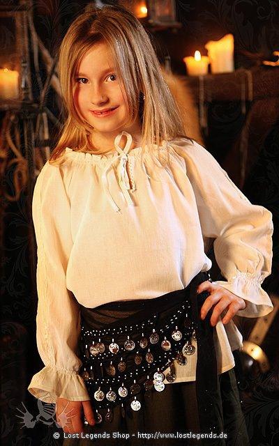Bluse für Mädchen Baumwolle
