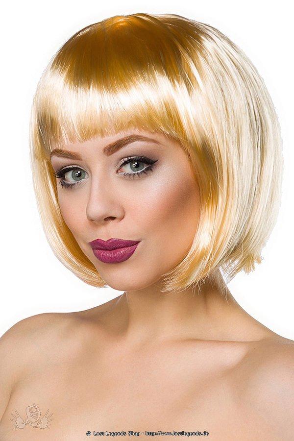 Bob-Perücke blond