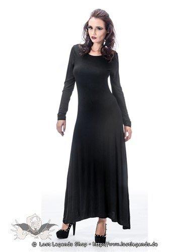 Bodenlanges Kleid mit Brustkorbknochen