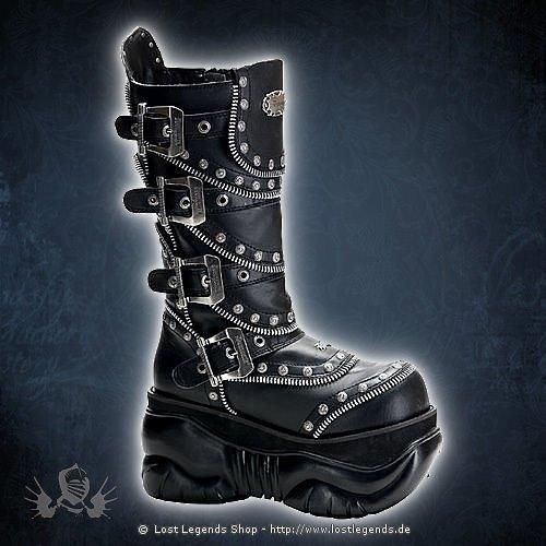 Boxer-203 Demonia Gothic Stiefel