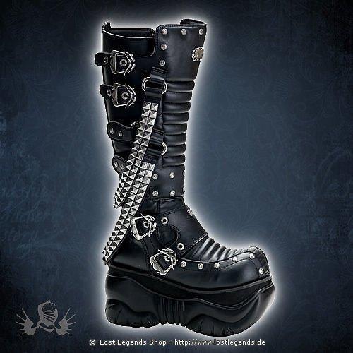 Boxer-206 Demonia Gothic Stiefel