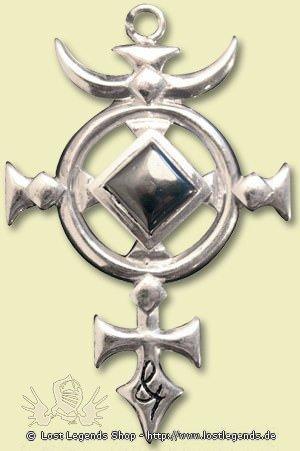Briar Edelsteine Kreuz des St. Michael
