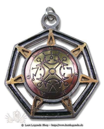 Briar Mittelalterliche Amulette Michael - Engel der Sonne