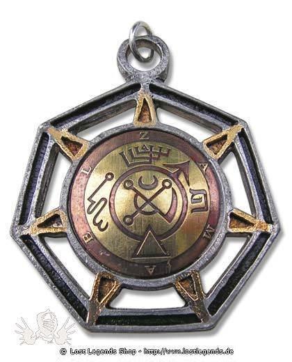 Briar Mittelalterliche Amulette Zamael - Engel des Mars