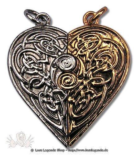 Briar Schätze von Albion Tristan und Isolde Liebesamulett
