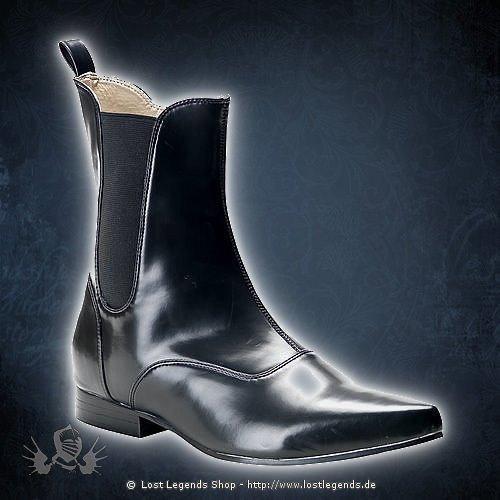 Brogue-02 Demonia Gothic Pike Stiefel