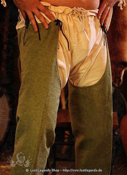 Bruche mit Beinlingen Mittelalter Hose