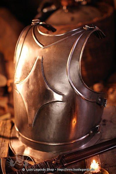 Brustplatte King, Metal