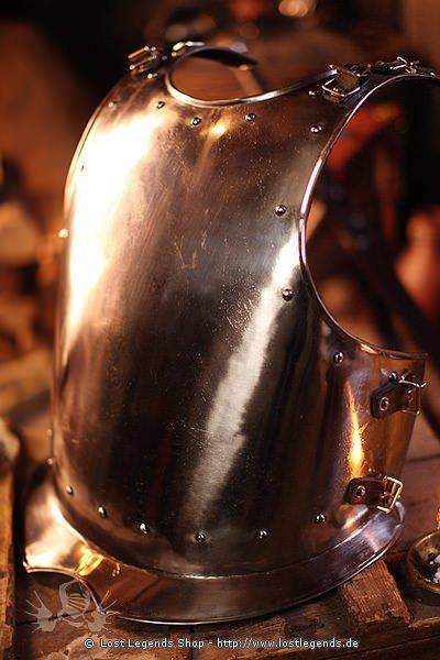 Brustplatte Warrior, Metal